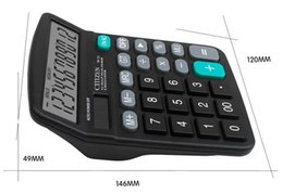 electronic work UK - Office School Calculator - Business Work Calculate Commercial Tool Battery and Solar 2in1 Powered 12 Digit Electronic Calculators