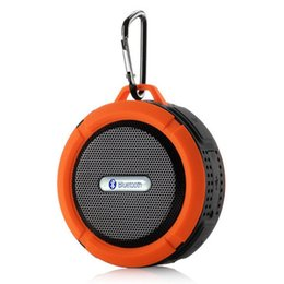$enCountryForm.capitalKeyWord Australia - C6 Portable Wireless Stereo Speaker With Calls Handsfree And Suction Cup Waterproof Bluetooth Shower LoudSpeaker