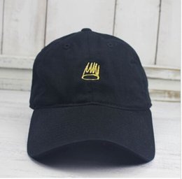 3e20f05a57f00 New Born Sinner Crown Baseball Cap Curved Bill Dad Hat Cotton Cole World J  of good quality brand cap for men and women