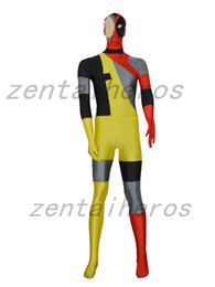 $enCountryForm.capitalKeyWord Canada - Hot New Style Lycra Spandex Deadpool Costume