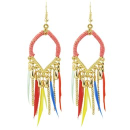 Indian Styles Feather Earring Online | Indian Styles Feather ...