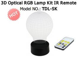 $enCountryForm.capitalKeyWord Australia - Mixed Designs 3D Optical Illusion Lamp Kit RGB LED Base with IR Remote DC 5V Battery Bin Wholesale Dropship