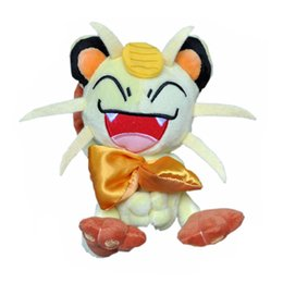 "old video games UK - Hot New 6"" 15CM Meowth Plush Doll Anime Collectible Dolls Stuffed Party Gifts Soft Toys"