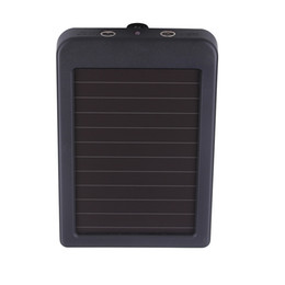 Wholesale-Wholesale New Charger 1500mAH Charger for HT Series Hunting Camera 0.4W Waterproof Solar Panel Charger on Sale