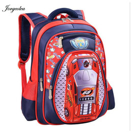 $enCountryForm.capitalKeyWord Canada - 3D Cartoon Big Capacity Russia Style Orthopedic School bags For Boys Car Ultralight Waterproof Backpack Child Kids School bag