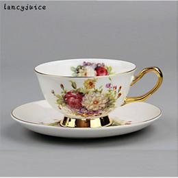 $enCountryForm.capitalKeyWord Canada - Rose Bone China Coffee Cup Set Ceramic Tea Mug European Style Royal Classic Drinkware Creative Gift