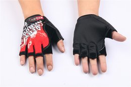 Giant half finGer Gloves online shopping - Hot Giant Short Finger Cycling Gloves Mountain Bike Half Finger Bicycle Gloves Spring Summer Non Slip Breathable Sports Gloves colors