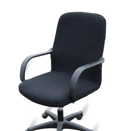 office lift 2018 - Hot Sale Computer Office Chair Cover Side Zipper Arm Chair Cover Slipcover Stretch Rotating Lift Chair Covers JC0287 che
