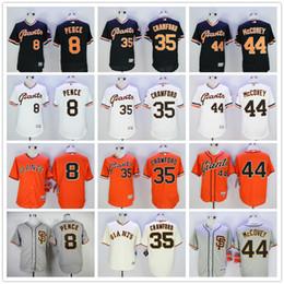 buy popular c497a 0ef79 san francisco giants 35 brandon crawford orange long sleeve ...