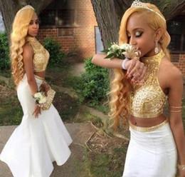 Black Gold Prom Dresses Rhinestones Online Shopping Black Gold
