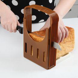 $enCountryForm.capitalKeyWord NZ - New EU Design ABS+Plastic Foldable cozinha Bread Slicer for Bread  loaf  toast Cutting-cuts Even Slices