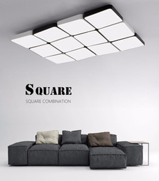 Minimalism Modern LED Ceiling Lights Living Room Bedroom Kitchen Ceiling  Lamp White And Black Ceiling Lighting Fixture