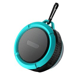 $enCountryForm.capitalKeyWord UK - C6 Outdoor Sports Shower Portable Waterproof Wireless Bluetooth Speaker Suction Cup Handsfree MIC Voice Box For iphone 7 iPad PC Phone