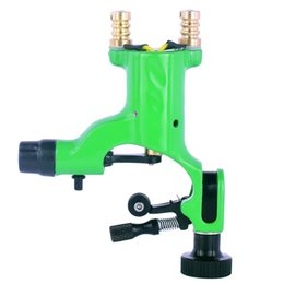 China Pro Green Dragonfly Rotary Tattoo Machine For Shader and Liner High Quality Tattoo Machine Gun Makeup Tool suppliers