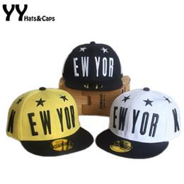 2bfdeec6f5a New York Hat Girls Canada - NEW YORK Snapback Caps Letter Boy Girls  Baseball Caps Children