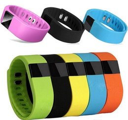 $enCountryForm.capitalKeyWord UK - Waterproof TW64 Smartband bracelet Wristband with New OLED Screen Fitness tracker Bluetooth 4.0 fitbit flex Watch for ios android smart band
