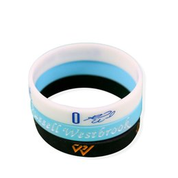 China 2017 Basketball MVP Russell Westbrook Signature Bracelet No.0 Sport Bracelets Silicone Bracelet Elastic Gym Fitness Energy Wristbands cheap wholesale jelly suppliers
