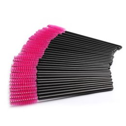 $enCountryForm.capitalKeyWord UK - 100pcs pack Professional Makeup Tools For Eyelash Extension Disposable Eyelash Brush Mascara Applicator With Free Shipping