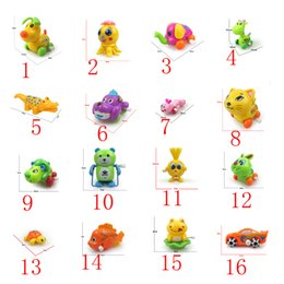 turtle bath toys 2019 - 16 models small-scale Up chain toys animal Reward children Kindergarten gife turtle baby kids Bath toys