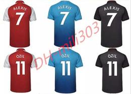 0f7912a6d 2017 2018 top thai quality Gunners OZIL soccer jersey 17 18 WILSHERE ALEXIS  GIBBS WALCOTT CHAMBERS home away third football shirt