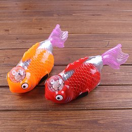 Discount girl big bear toy - The new music light music electric flash fish fish stall children flash toys wholesale