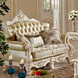 New Arrival Hot Sale Sofa French Design Fabric Couches Living Room Furniture Chaise Lounge Pfy10031