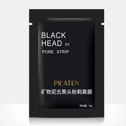 Wholesale PILATEN Facial Minerals Conk Nose Blackhead Remover Mask Pore Cleanser Nose Black Head EX Pore Strip DHL free