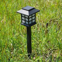 Mini LED Solar Lights Lampade da giardino 38cm ABS Outdoor impermeabile Decorazioni per la casa Paesaggio Cortile Diretto da Shenzhen China Factory