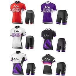 pro team Liv 2017 women mtb Cycling jersey bike bib Shorts shirts set quick  dry racing Bicycle Sportswear maillot ciclismo I002 5c78bf5c0