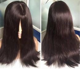 EuropEan koshEr wig online shopping - 8A Grade Human Hair Dark Brown Color Best Sheitels x4 Silk Top Jewish Wigs Finest European Virgin Hair Kosher Wigs