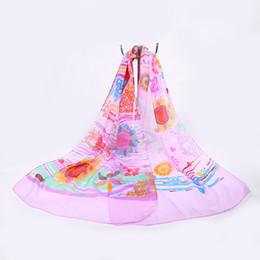 Venta al por mayor de Envío gratis multicolor para mujer bufandas de gasa bloqueador solar protector solar Pashmina Beach bufanda del mantón para las mujeres de la muchacha