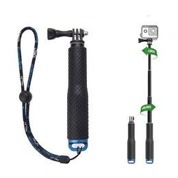 Extendable Handheld Stick Telescopic Monopod Tripod for Gopro Hero6 Black Hero 5 4 SJ4000 SJ5000 F60 EKEN H3 H8 H9 on Sale
