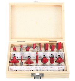 $enCountryForm.capitalKeyWord Canada - 15Pcs Set 1 4 Tungsten Professional Shank Carbide Router Bit Set Screw Extractor Drill Bits Guide Set Broken Bolt Remover Easy Out Wood Box