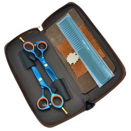 Barber Thinning Shears Australia - 5.5Inch Meisha Hair Scissors Set Kit Professional Cutting Scissors 62HRC Thinning Shears Barber JP440C Hairdressing Hair Tool, HA0019