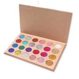Chinese  12pcs Newest Makeup CLEOF Cosmetics 24 color Glitter Eyeshadow Palette Beauty Shimmer Eye Shadow DHL shipping manufacturers