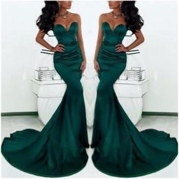 $enCountryForm.capitalKeyWord Australia - Mermaid Evening Dresses Robe de Soiree 2016 Sexy Sweetheart Off the Shoulder Emerald Green Long Evening Dress Pageant Gowns