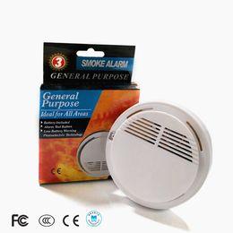 $enCountryForm.capitalKeyWord NZ - Smoke Detector Alarms System Sensor Fire Alarm Detached Wireless Detectors Home Security High Sensitivity Stable LED 85DB 9V Battery