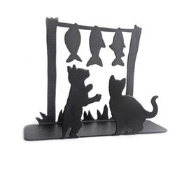 Unique Designs Decorations UK - Unique Creative Design Metal Napkins Holder Dining Table Decoration Sundries Storage Christmas New Year Gift