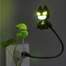 batman lighting 2019 - 80pcs USB Portable Laptop LED Superhero cool Batman Night Light Lamp Emergency Table PC Computer Notebook Desktop free s