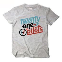 c44e60a39 Twenty One Pilots T shirt For Lovers O-neck Cotton Short Sleeve Tee shirt  Homme 2017 Summer New Fashion Rock T shirt Size XS-XXL