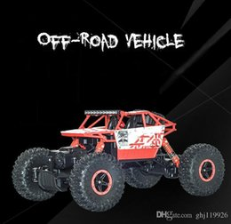 Red Cars Toys NZ - Large four-wheel drive off-road vehicle drift charge remote control rock climbing car, drop-resistant car children's toys toy car model