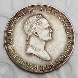 Russia Coin Australia - POLAND UNDER RUSSIA 5 ZLOTYCH Full Set(1830-1834)-KG,5pcs SILVER, NICHOLAS s Brass Craft Ornaments replica coins home decoration accessories