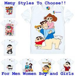 $enCountryForm.capitalKeyWord Canada - Coolprint Anime Shirt Crayon Shin chan T-Shirts for Mens Womens and Youth Shin-chan cartoon Cosplay Costume Japanese Kawaii Tee MultiStyle