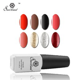 Base Un Gel Uv Pas Cher-Vente en gros Saviland 1pcs Gel UV 3 en 1 Pas besoin de base manteau de base Soak Off Gel vernis à ongles Vernis Easy Remover 7ml One Step Gel