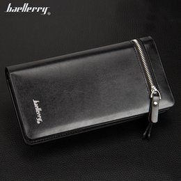 Business Card Holder Cell Phone Case Canada - New Arrival PU Designer Men's Wallets Boy's Clutch Wallet Case Clutch Credit Cards Holders Man's Business Wallets