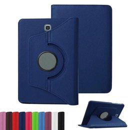 Discount samsung tab s2 leather cover - For ipad 9.7 2017 Mini5 Samsung Galaxy Tab S2 T810 S3 T820 Tab E T560 T377 Leather Case 360 Rotating Magnetic Cover