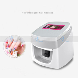 Vernis À Ongles Automatique Pas Cher-Vernis à ongles Design Imprimante Numérique Beauté Machine DIY Motif Art Stamping Outils Mobile WIFI Smart Téléphone Photo Automatique Équipement D'impression