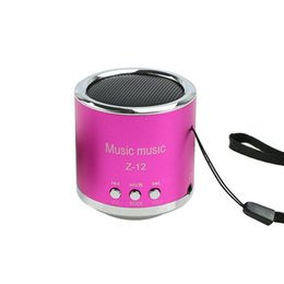 portable sd usb mp3 music speaker 2019 - Wholesale- 1 PC Portable Wireless Mini Music Speaker FM Radio USB Micro SD TF Card MP3 Player cheap portable sd usb mp3
