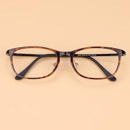 Discount carbon lights - Wholesale- Korean High-end Men Vintage Brand Tungsten Glasses Frame Women Ultra light Myopia Carbon Steel Eyeglasses Pre