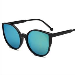 ece566ca33 Sunglasses for women men sun glasses Casual mirror UV400 PC plastic Color  Retro Fashion beach Accessories new Unisex wholesale Cheap